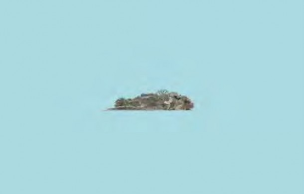 Sea State 2: Pulau Sajahat, 2012, digital drawing on dibond mount