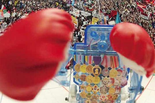 Liu Xinyi, Street Fighter, 2012, single-channel HD video 5 min. 16 sec.