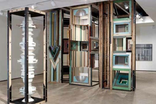"View of ""Urban Synesthesia,"" 2013 Lehmann Maupin, New York"