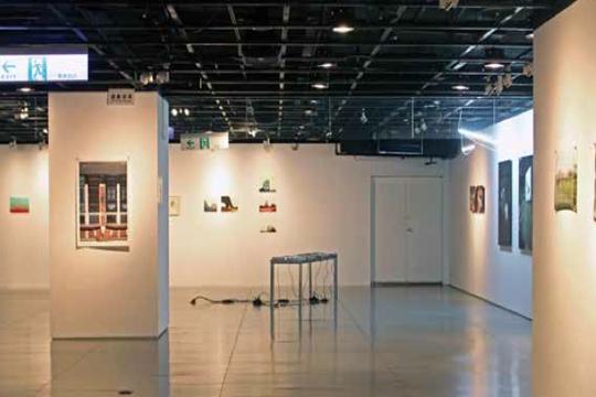 """View of """"Urban Synesthesia,"""" 2013 Arki Galeria, Taipei"""