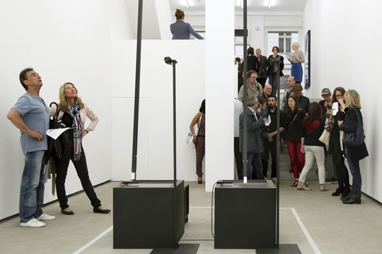 Carsten Nicolai, crt mgn, 2013, Gallerie EIGEN + ART, PHOTO:Marco Funke