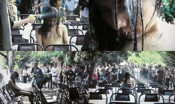 马六明,《芬·马六明在伊斯坦布尔双年展》,2001 年,行为、录像