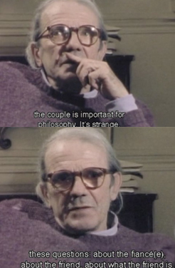 Stills from Gilles Deleuze from A to Z (L'Abécédaire) Courtesy of Semiotext(e)