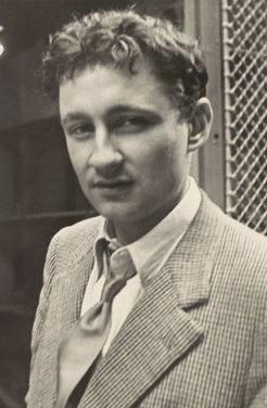 Guy Debord, June 1954, passage Molière, Paris. Photographer unknown. Guy Debord archives, manuscript division, BnF