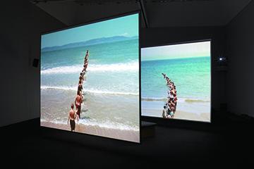 """View of """"Gibraltar Focus,"""" 2013 Museum of Contemporary Art Tokyo PHOTO: Shizune Shiigi"""