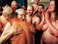 Zhang Huan, My America (Hard to Acclimatize), 1999, performance, Seattle Asian Art Museum