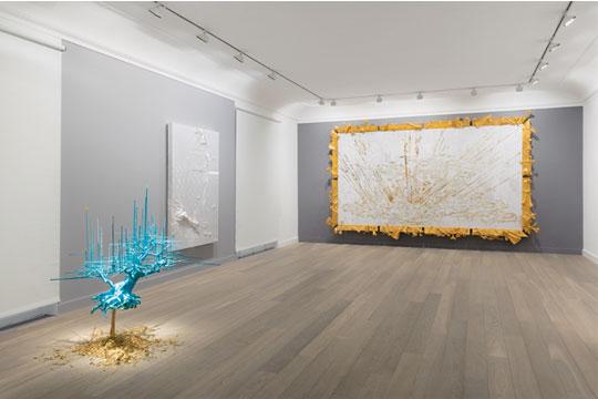 展览现场, 2013年 巴黎Lelong画廊