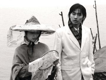 杨福东,《留兰》,2003年 单屏录像,14分钟