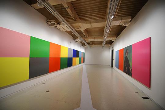 颜磊,《有限艺术项目》,2012年,展览现场