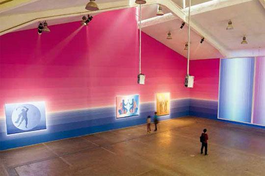 展览现场,2 014年,北京当代唐人艺术中心