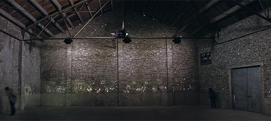 胡介鸣,《序曲》 展览现场,2014年