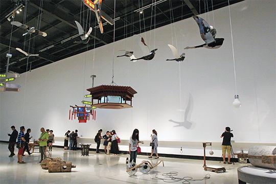 """""""太平广记""""展览现场,2014年,北京红砖美术馆"""
