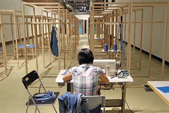 黄博志,《生产线—中国制造》,2014年 装置,尺寸可变