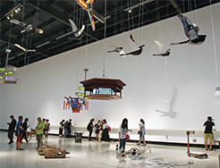 """""""Tales from the Taiping Era,""""exhibition view"""