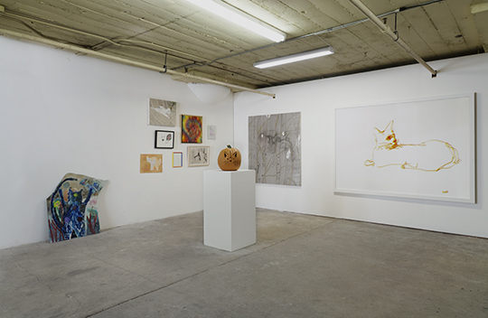 Installation view of Another Cats Show , 2014, at 356 S. Mission Road / Ooga Booga II. Courtesy 356 S. Mission Road and Ooga Booga II. Photo: Brica Wilcox