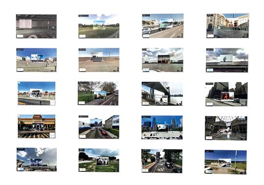 阿斯巴甜,《艺术达人养成计划地图》,2014年,数码合成照片,尺寸不限