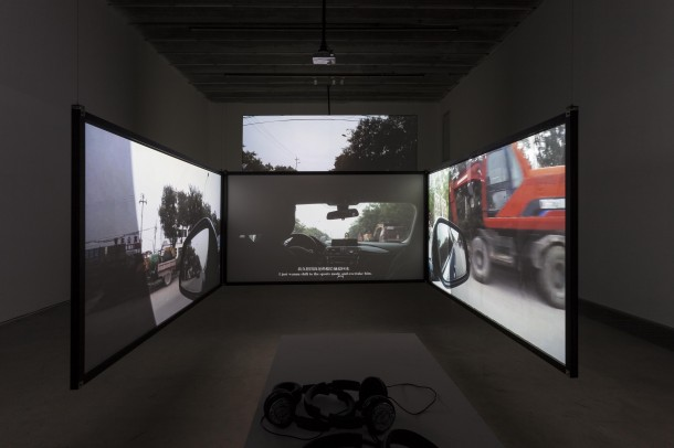 The Great Metaphorist, 2014. Multi-screen video installation. Image courtesy Chambers Fine Art Beijing.