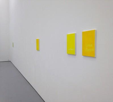He Xiangyu, Lemon Flavored, 2014, acrylic on canvas, 35.6 x 27.9 cm. Photo: Lida Zeitlin Wu.