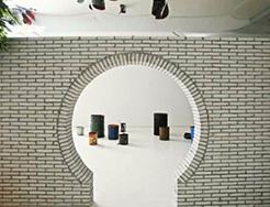 源计划建筑工作室,《美术馆,街市》,2014年,建筑介入,展览现场