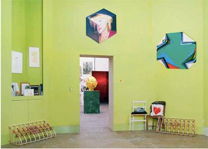 乌尔斯•费舍尔,《38 E. 1st St.》,展览现场,2014年