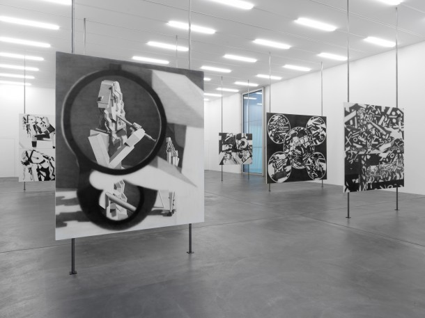 "Avery Singer, ""Pictures Punish Words,"" installation view, 2014 Kunsthalle Zürich, Zürich, Switzerland PHOTO: Annik Wetter Courtesy of Kunsthalle Zürich"