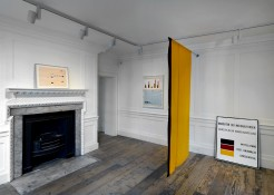 Exhibition view KP Brehmer. Real Capital Production, Raven Row, 2014 PHOTO: Marcus J. Leith Courtesy of Estate of KP Brehmer, Berlin