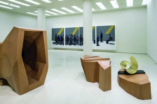 Installation view, Solomon R. Guggenheim Museum, New York PHOTO: David Heald. Courtesy of the artist and Solomon R. Guggenheim Museum, New York