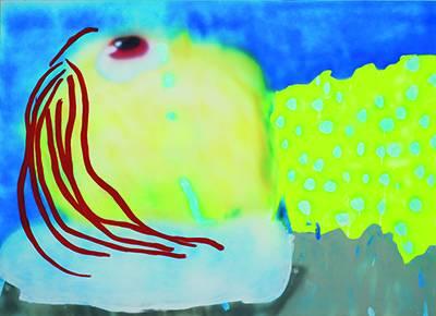 《浮肿》,2013年,布面丙烯,183 × 244 厘米