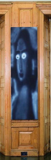 《迷恋》, 2014年,布面丙烯,208 × 61 厘米