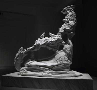 """Zhan Wang: morph,"" installation view Long March Space, Beijing, 2014 Courtesy of Zhan Wang and Long March Space"