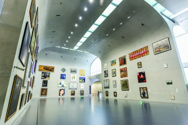 """View of """"1199 People: Collection from Long Museum"""" 2014, Long Museum, Shanghai"""
