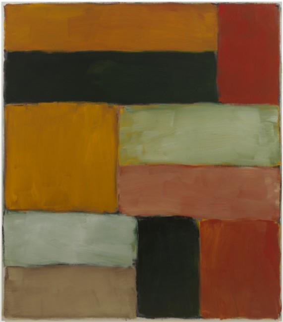 光之壁-地中海,铝塑板上油画,2011