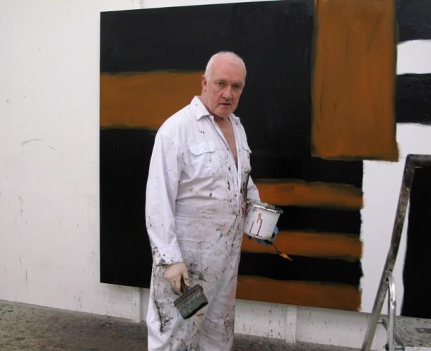 正在工作的斯库利,2009年3月12日
