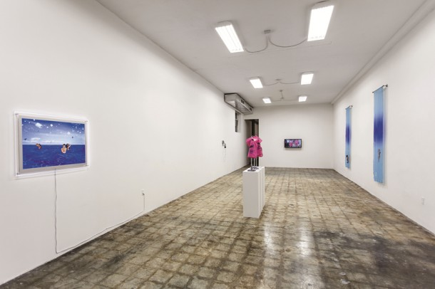"Cristine Brache, ""I know the master wasted object,"" 2014 Installation view"