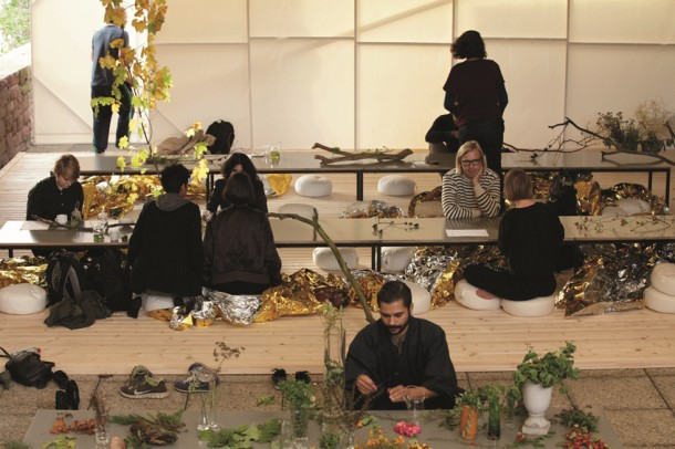 本杰明·亚历山大·侯斯比和丹尼斯·波玛·费兰特,现场表演,《茶园》,2014年10月17日