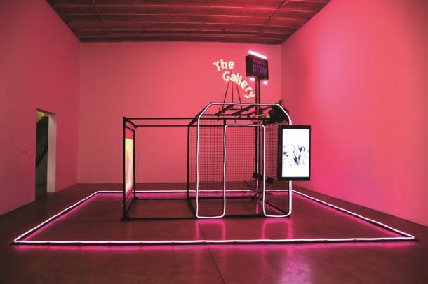 """""""这个画廊"""",2013年,C-Space北京,展览现场"""