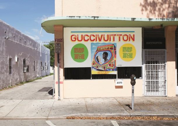 Exterior of Guccivuitton