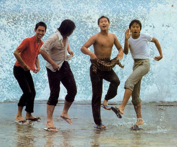 《风柜来的人》电影剧照, 1983年。
