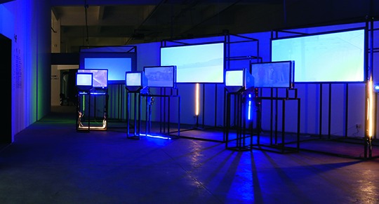 Liu Wei, Colors, 2013, nine-channel video installation Courtesy the artist