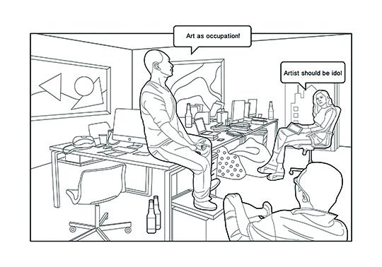 LEAP插图-办公室场景