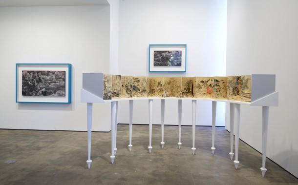 """孙逊,""""时间公园""""展览现场,Sean Kelly Gallery,PHOTO: Jason Wyche, Courtesy: Sean Kelly, New York"""