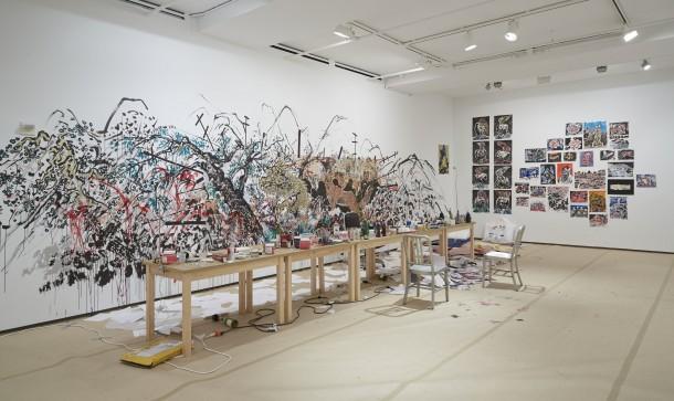 """孙逊,""""时间公园""""装置视角,Sean Kelly Gallery,纽约 PHOTO: Jason Wyche, Courtesy: Sean Kelly, New York"""