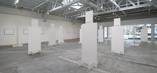 """""""Tram 3,"""" Installation View, Wattis Institute, San Francisco, 2015 Courtesy Wattis Institute"""