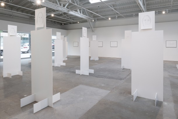 """Tram 3,"" Installation View, Wattis Institute, San Francisco, 2015 Courtesy Wattis Institute"