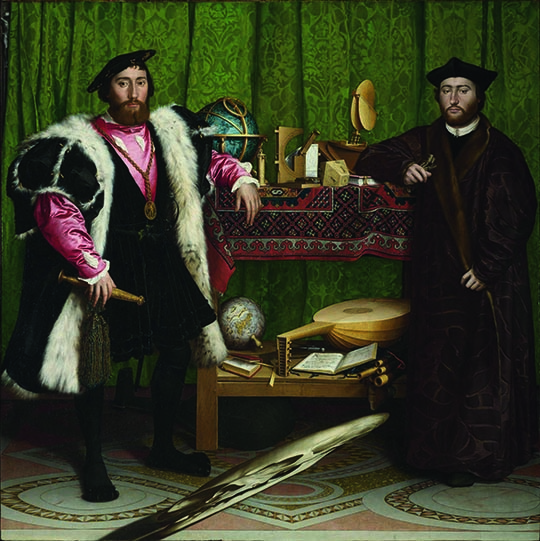 Hans Holbein the Younger The Ambassadors,1533