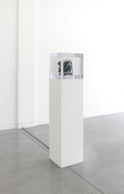 Autonomy Cube, 2014 Mixed media, 34.3 x 34.3 cm Courtesy Altman Siegel