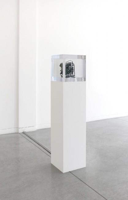 Autonomy Cube, 2014 Mixed media, 34.3 x 34.3 cm Courtesy Altman Siegel