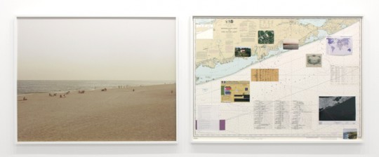 NSA-Tapped Fiber Optic Cable Landing Site, Mastic Beach, New York, United States, 2014 C-print 121.9 x 152.4 cm, two parts 48 x 60 in, two parts Courtesy Altman Siegel