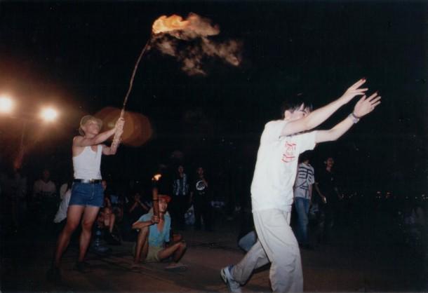 Broken Life Festival, Taipei, 1994. Courtesy Yao Jui-Chung