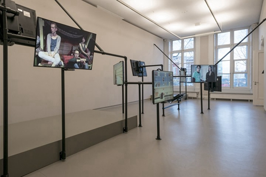 "View of ""The Common Sense,"" 2014, De Appel Arts Center, Amsterdam"